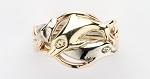 4DL Ladies Puzzle Ring Dolphin