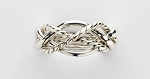 4tw2x Ladies Sterling Ring