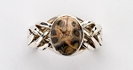 6PJ Picture Jasper Ladies Puzzle Ring