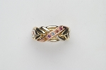 6WBD Harlequin Ladies Puzzle Ring