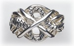 7SX Mens Puzzle Ring