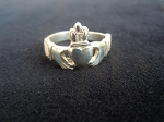 Claddagh High Crown Ladies Sterling Ring