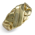 6BWN Mens Puzzle Ring