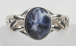 4SO Sodalite Ladies Puzzle Ring