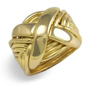 12NX Mens Puzzle Ring