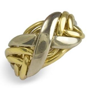 6NX Mens Puzzle Ring