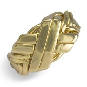 8BWN Mens Puzzle Ring