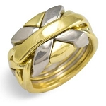 7NSP Mens Puzzle Ring