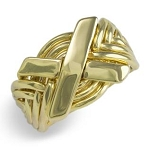 8N Ladies Puzzle Ring