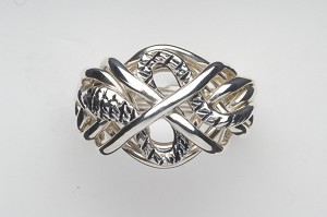 7SX Ladies Puzzle Ring