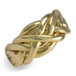 6C3 Ladies Puzzle Ring
