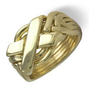 6N Ladies Puzzle Ring